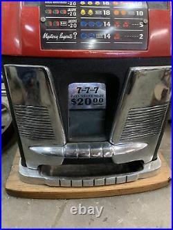 Slot Machine 25 Cent (missing key for back door)