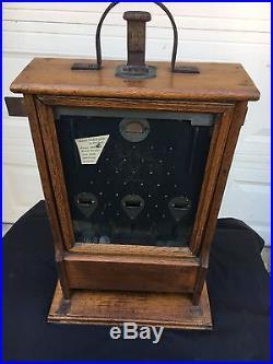 Slot Machine 5 cent Clawson 3 Jackpot circa 1904