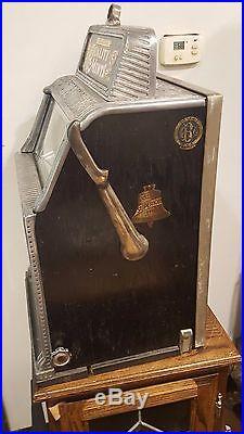Slot Machine Antique Callie Superior Mint Vendor coin op vending casino