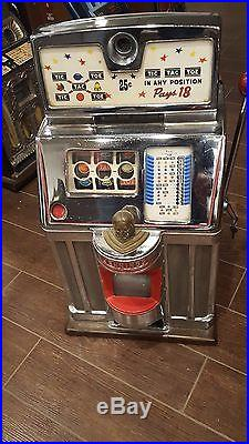 Slot Machine Antique Jennings Governor Coin Op vending casino