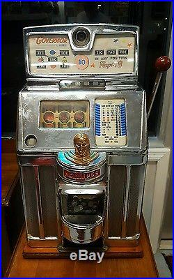 Slot Machine Antique Jennings Governor Coin Op vending casino SHIPPING AVAILABLE