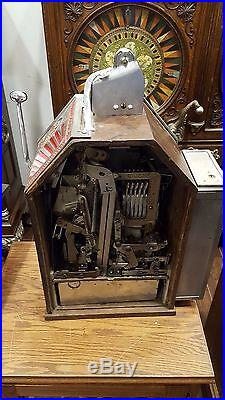 Slot Machine Antique Jennings Little Duke Coin op vending Gum Vendor penny