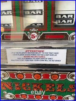 Slot Machine BALLY 5 Cent Nickel