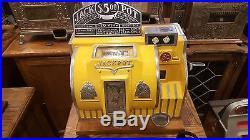 Slot Machine Bally Reliance coin op vending casino dice