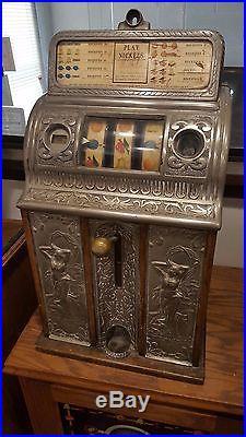 Slot Machine Callie Cast Iron Center Pull
