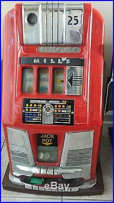 Slot Machine Collection Mills High Top, Mint Dispenser, Castle, Columbia