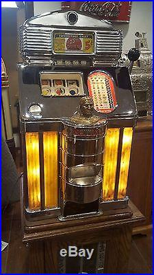 Slot Machine Jennings Sweepstakes coin op vending