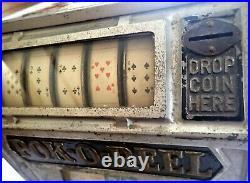 Slot Machine POK-O-REEL Scarce'any coin' variety