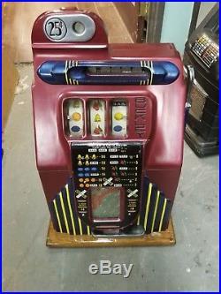 Slot Machine Quarter Buckley coin op vending casino