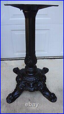 Slot Machine Stand Cast Iron Time Period Stand Heavy Duty