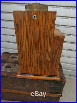 Slot Machine The Film Stars Vintage 1948 Wood Case Works Tom Boland 25 cent Rare