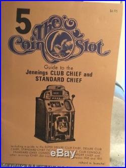 Slot Machine vintage Jennings chief. 5 cent play