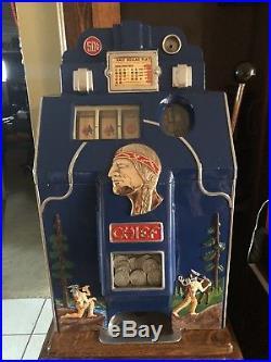 Slot machine Jennings. 50 Chief
