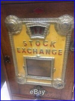 Stock Exchange Rare Gambler Coin-op Device Rare Stock Exchange Machine