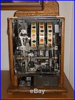 Super Nice! L 1930's Mills War Eagle 10 Cent Slot Machine See Shipping Options