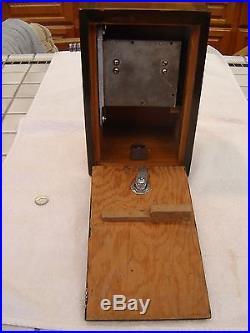 Vintage 1937 Bally Nugget 5 Cent Coin Op Trade Stimulator Slot Machine Antique