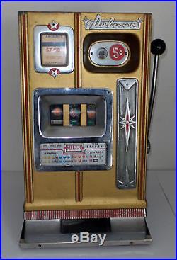 VINTAGE 1950's ARISTOCRAT SLOT MACHINEMILLS INSIDE MECHANICSUNRESTORED COND