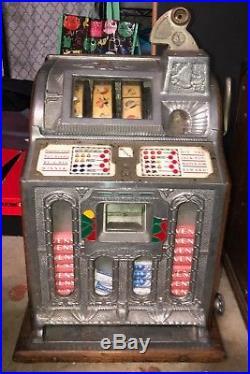 VINTAGE 3cent slot Machine