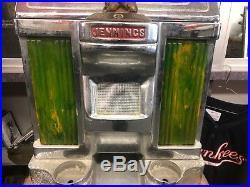 VINTAGE Five cent 5c Nevada Club Jennings Antique Slot Machine
