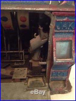 Vintage Pace Jak Pot Nickel Slot Machine
