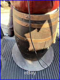 VINTAGE PIRATE on RUM BARREL SLOT MACHINE