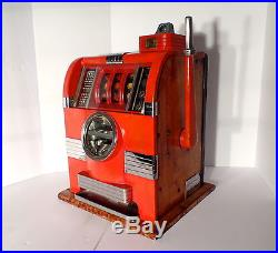 VTG Caille Bros. Cadet Escalator coin op Vending, Slot Machine, Trade Stimulator