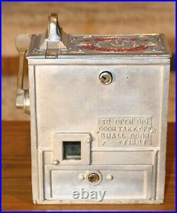 Very Rare 25 Cent Mills Puritan Trade Stimulator Machine