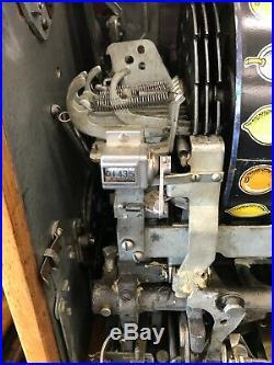 Vintage $0.10 Buckley Slot Machine Recently Serviced