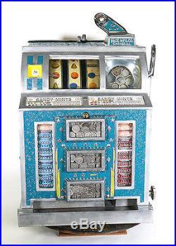 Vintage 1930's Pace 5 Cent Slot Machine