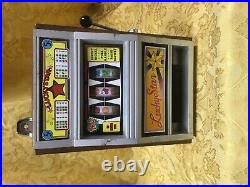 Vintage 1980 Poynter Lucky Star Slot Machine