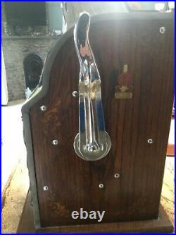 Vintage 5 cent Gooseneck Bell Lion Head Slot Machine 1930's mills 1920-30s