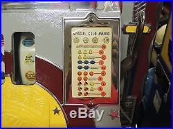 Vintage Antique Mills Slot Machine with Mint Vendor Very Nice Working! L@@K