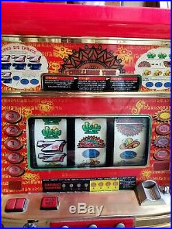 Vintage Azteca Japan Slot Machine Full Size Local Pickup Only