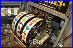 Vintage Bally 1968 MDL 831H Las Vegas Nickel Slot Machine Restored Fully Working