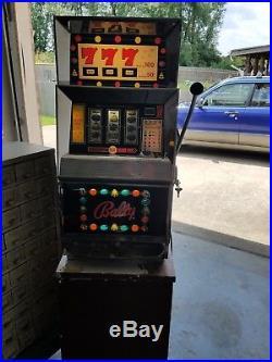 Vintage Bally Nickel Slot Machine