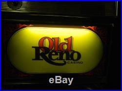 Vintage Bally Old Reno Casino 25-Cent Slot Machine $1000