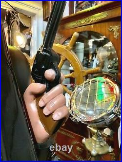 Vintage Bandit Character Mills Slot Machine 25 cent