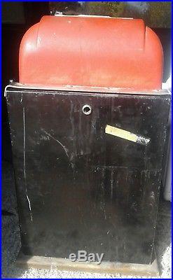 Vintage Beautiful 1940's Mills High Top 25 cent Quarter Slot Machine