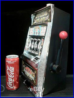 Vintage Beautiful Big Slot Machine Vegas Style Game Toy Home Decor Gift FS pghsy