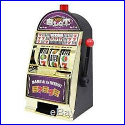 Vintage Beautiful Small Slot Machine Vegas Style Game Toy Home Decor Gift pghsy