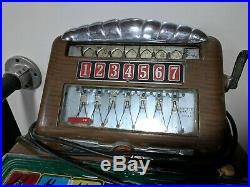 Vintage Buckley Track Odds Horse Race Machine