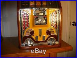 Vintage Caille 1932 10 Cent Silent Sphinx Slot Machine LOCAL PICKUP ONLY