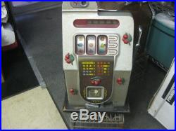 Vintage Cherries Slot Machine 5 Cents Local Pick-up Only