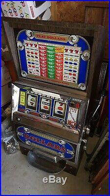 Vintage Dollar Bally Slot Machine