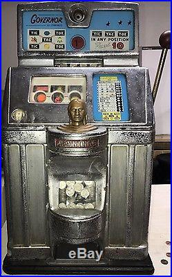Vintage Governor By Jennings Penny Slot Machine