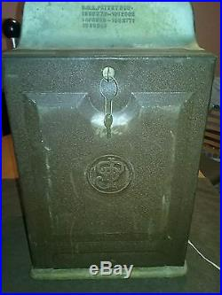 Vintage Jennings Standard Chief 25 Cent Slot Machine