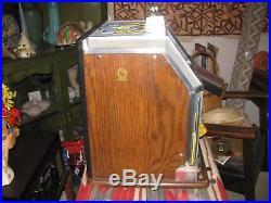Vintage Jennings nickel slot machine, the duchess