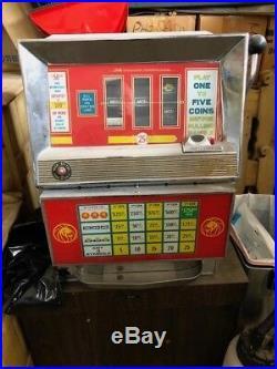 Vintage MGM slot machine