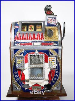 Vintage MILLS Rockola 25 Cent Slot Machine