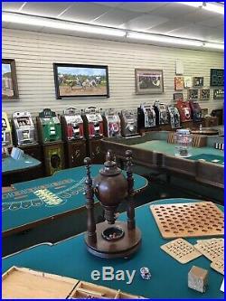 Vintage Mills $0.25 Gooseneck Slot Machine Recently Serviced